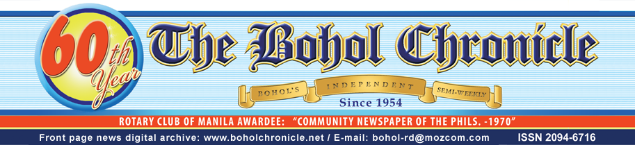 The Bohol Chronicle Digital Archive