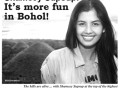 Shamcey Supsup: It's more fun in Bohol!